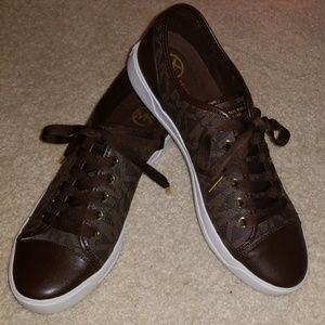 Michael Kors Women's MK City Sneaker - Brown